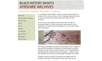 Ayrshire Archives – Black History