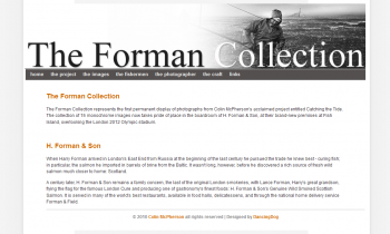 Colin McPherson – The Forman Collection