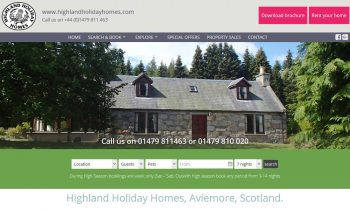Highland Holiday Homes