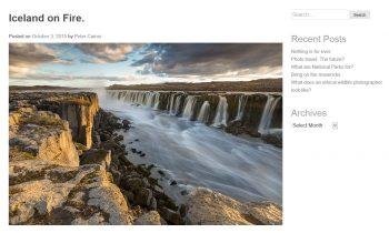 Peter Cairns Photography Blog